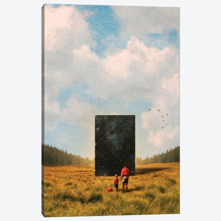 Son, This Is The Universe Canvas Print #FRO96} by Fran Rodriguez Canvas Wall Art