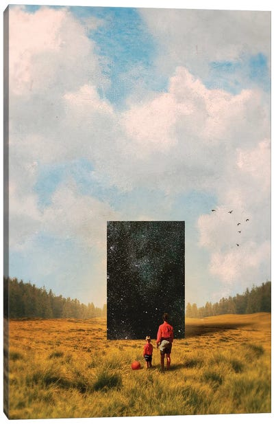 Son, This Is The Universe Canvas Art Print