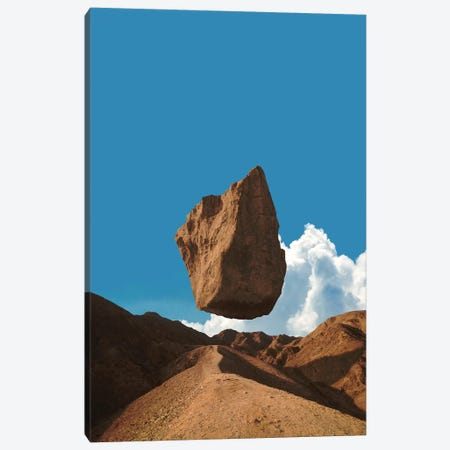 Floating Land Canvas Print #FRO99} by Fran Rodriguez Canvas Print