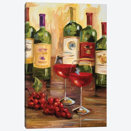 Chianti I Canvas Print #FRR11} by Heather A. French-Roussia Canvas Wall Art