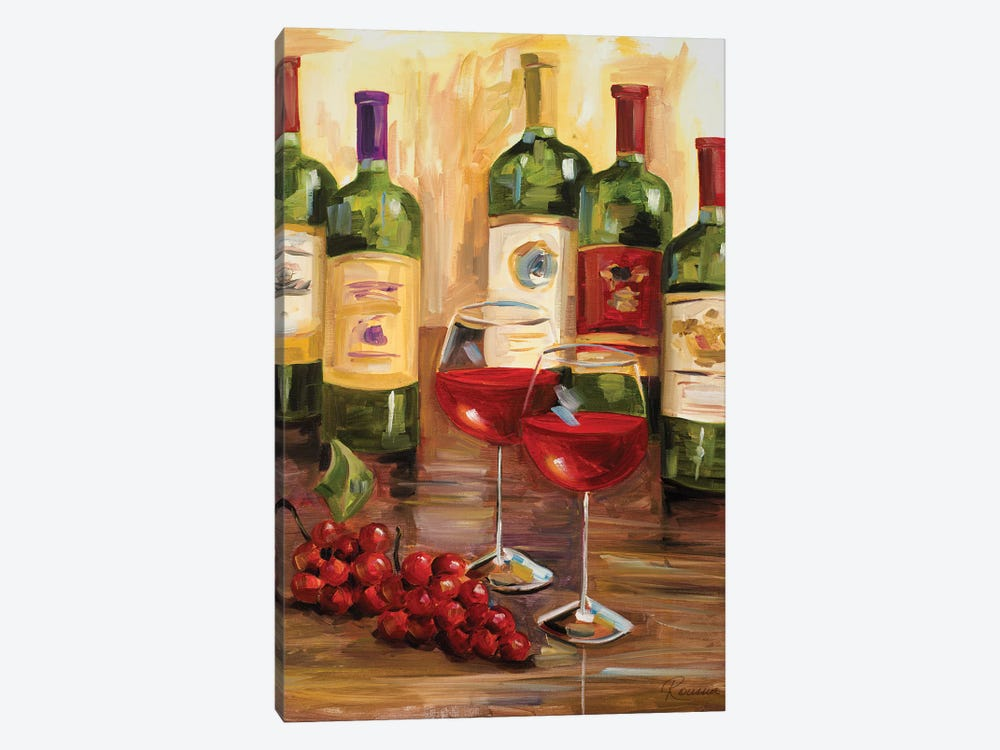 Chianti I by Heather A. French-Roussia 1-piece Canvas Art