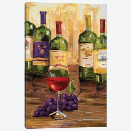 Chianti II Canvas Print #FRR12} by Heather A. French-Roussia Canvas Artwork
