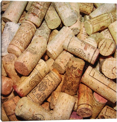 Corks I Canvas Art Print