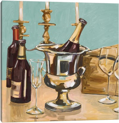 Dinner Party II Canvas Art Print
