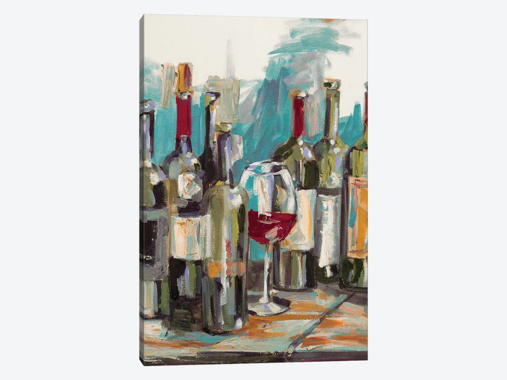 Uncorked I by Heather A. French-Roussia 1-piece Canvas Print