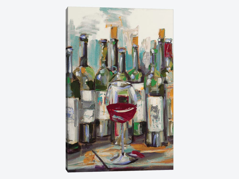 Uncorked II by Heather A. French-Roussia 1-piece Canvas Art