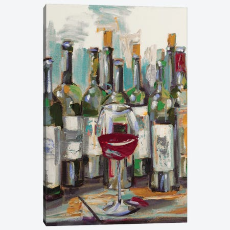 Uncorked II Canvas Print #FRR19} by Heather A. French-Roussia Canvas Artwork