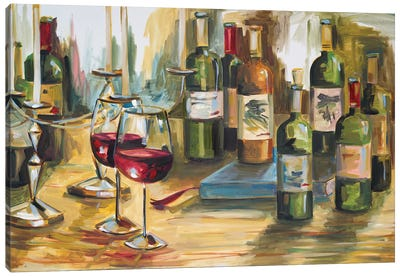 Wine Room Canvas Art Print
