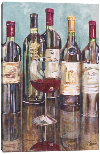 Wine Tasting I Canvas Art Print