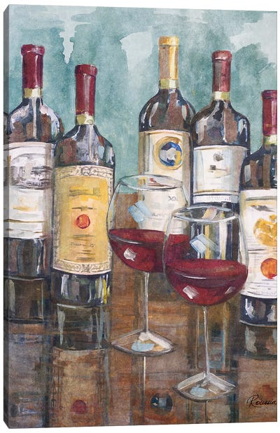 Wine Tasting II Canvas Art Print