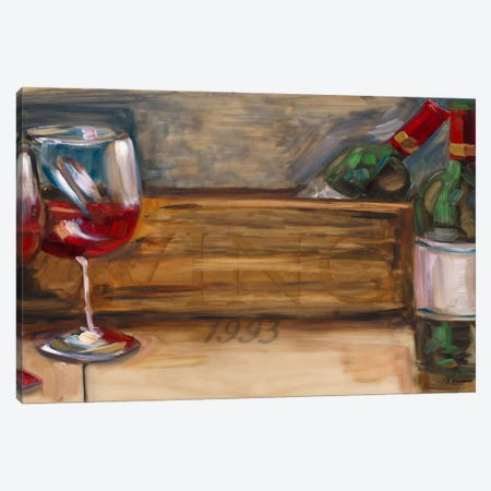 '93 Vino Canvas Print #FRR27} by Heather A. French-Roussia Canvas Artwork