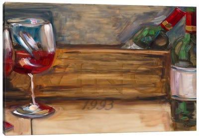 '93 Vino Canvas Art Print