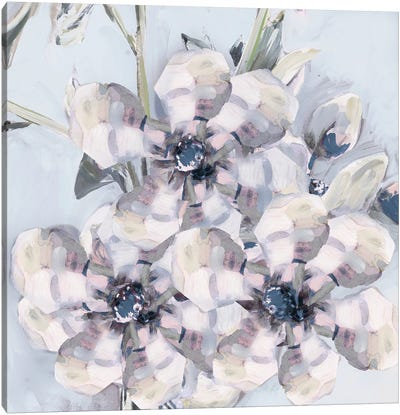 Bunched Flowers I Canvas Art Print