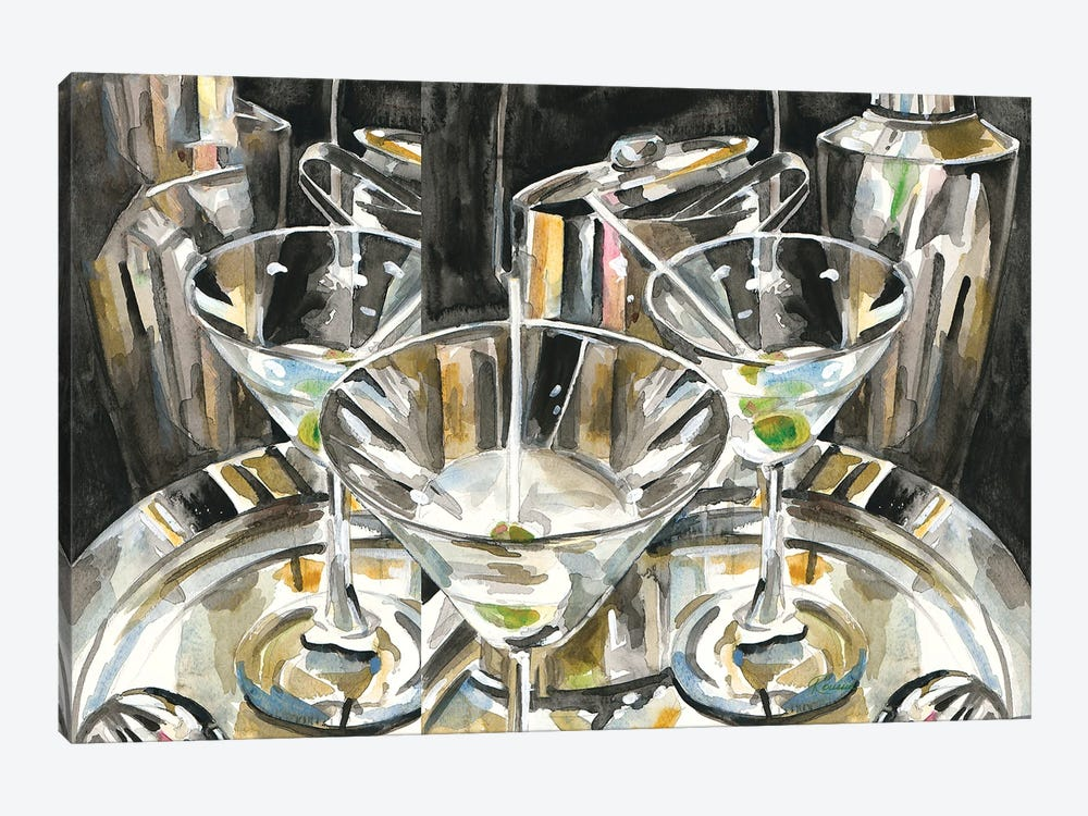 Late Night Out by Heather A. French-Roussia 1-piece Canvas Art Print