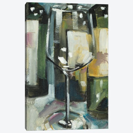 Pour the Wine Canvas Print #FRR38} by Heather A. French-Roussia Canvas Wall Art