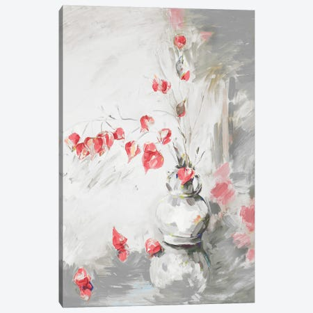 Red Roses I Canvas Print #FRR39} by Heather A. French-Roussia Canvas Art