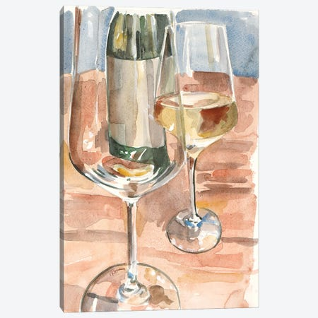 Wine Series I Canvas Print #FRR48} by Heather A. French-Roussia Canvas Print
