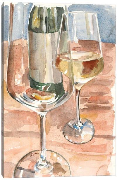 Wine Series I Canvas Art Print