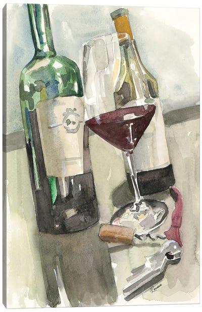 Wine Series II Canvas Art Print