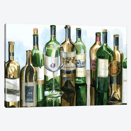 B&G Bottles I Canvas Print #FRR4} by Heather A. French-Roussia Canvas Print