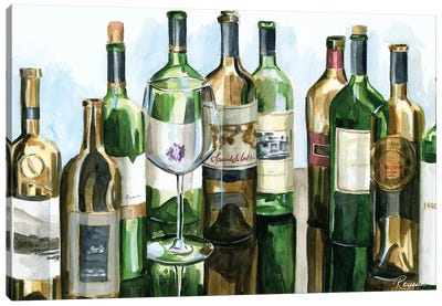 B&G Bottles I Canvas Art Print
