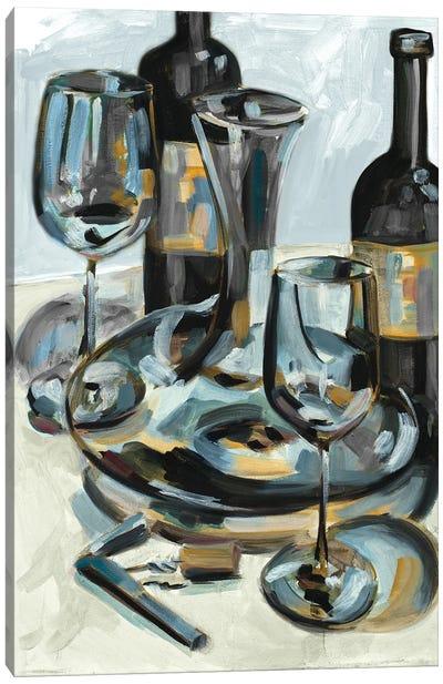 Wine with Dinner I Canvas Art Print