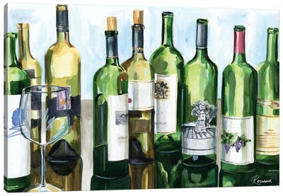 B&G Bottles II Canvas Art Print