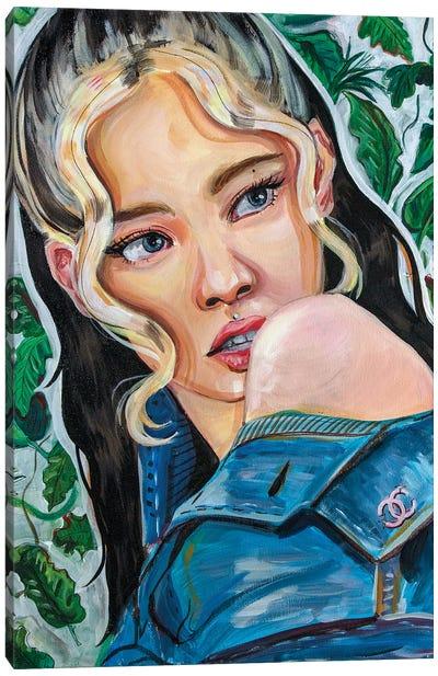 Blackpink Jennie I Canvas Art Print