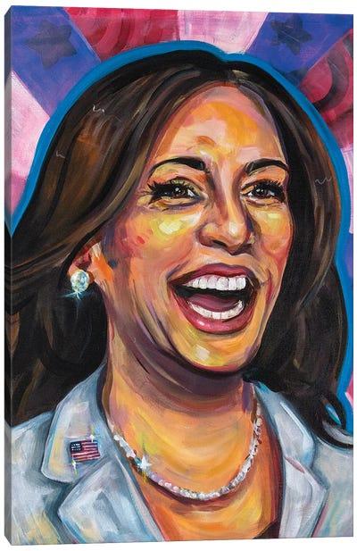 MVP Kamala Harris Canvas Art Print