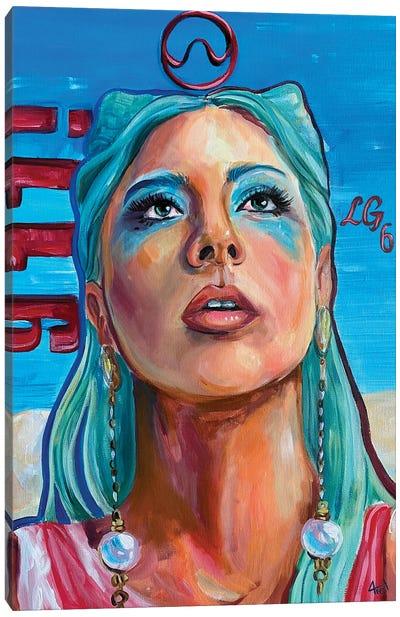 Lady Gaga 911 Canvas Art Print