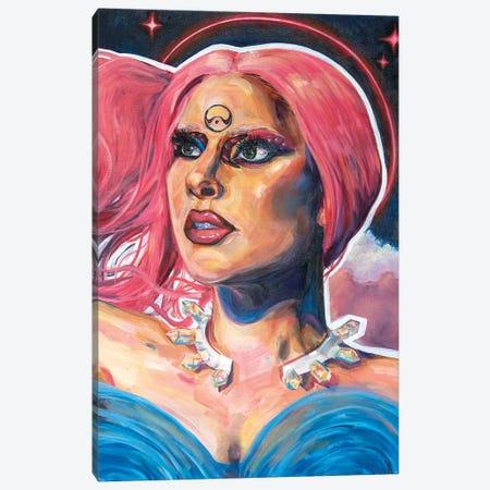 Our Lady Of Chromatica Lady Gaga Canvas Print #FRT20} by Forrest Stuart Art Print