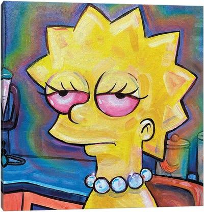 Lisa Simpson Canvas Art Print