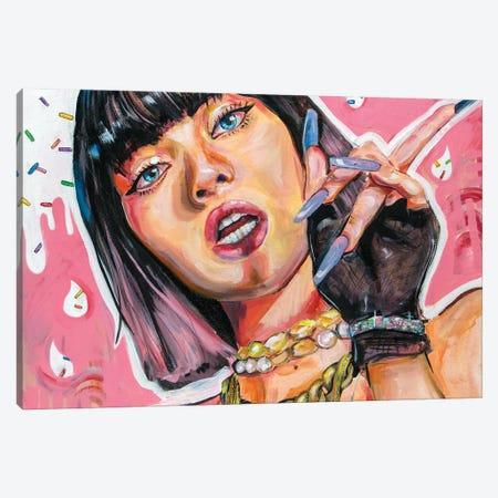 Blackpink Lisa Canvas Print #FRT23} by Forrest Stuart Canvas Art Print