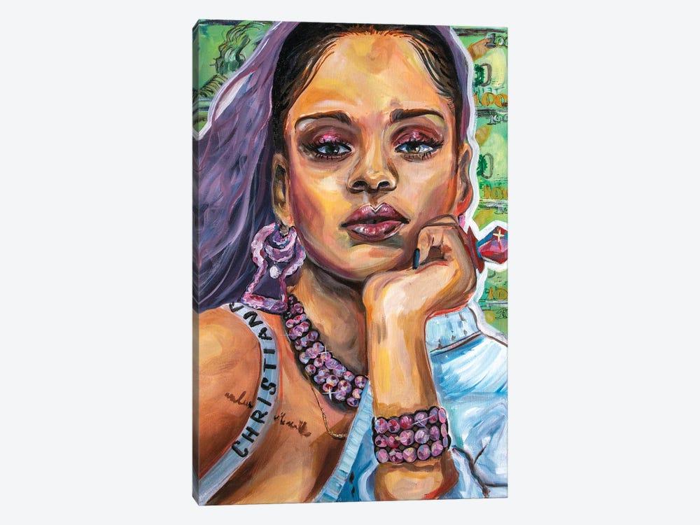 Rihanna by Forrest Stuart 1-piece Canvas Art
