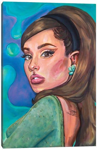 Ariana Grande II Canvas Art Print