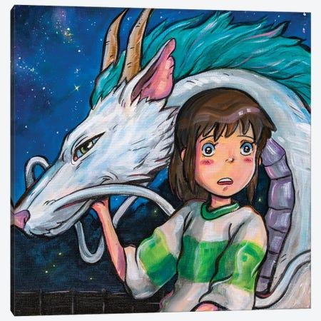 Spirited Away Canvas Print #FRT33} by Forrest Stuart Canvas Wall Art