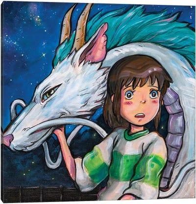 Spirited Away Canvas Art Print