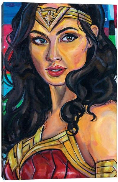 Wonder Woman Canvas Art Print