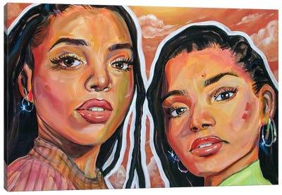 Chloe X Halle Canvas Art Print