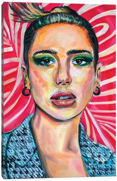 Dua Lipa II Canvas Art Print