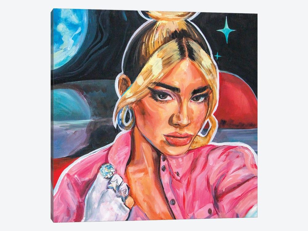 Dua Lipa by Forrest Stuart 1-piece Art Print
