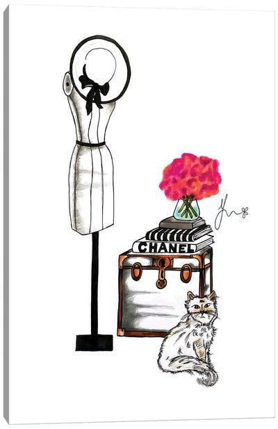 Choupette Canvas Art Print