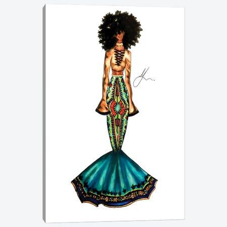 Cultural Appreciation: Fro Canvas Print #FSA19} by 125th Fash Avenue Canvas Art