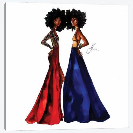 Cultural Appreciation: Naomi & Norrah Canvas Print #FSA20} by 125th Fash Avenue Canvas Print