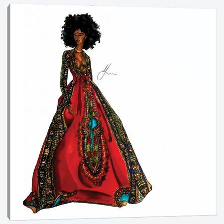 Cultural Appreciation: Queen Canvas Print #FSA22} by 125th Fash Avenue Canvas Art Print
