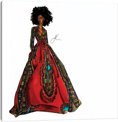 Cultural Appreciation: Queen Canvas Art Print