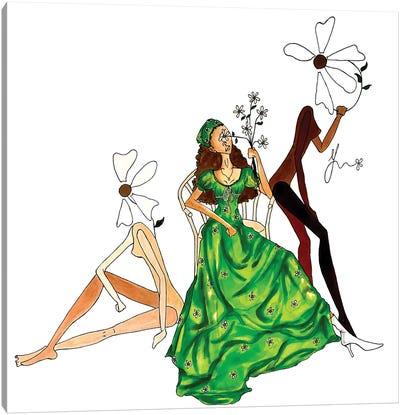 Fresh Blooms. Canvas Art Print