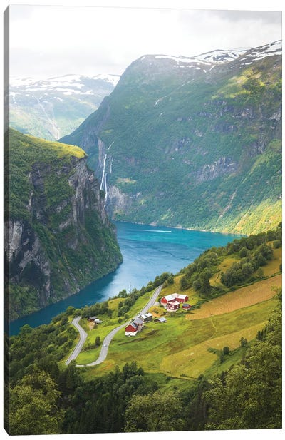 Geiranger Fjord, Norway Canvas Art Print