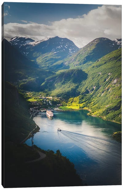 Geiranger, Norway Canvas Art Print
