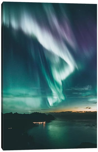 After The Sunset, Senja, Norway Canvas Art Print